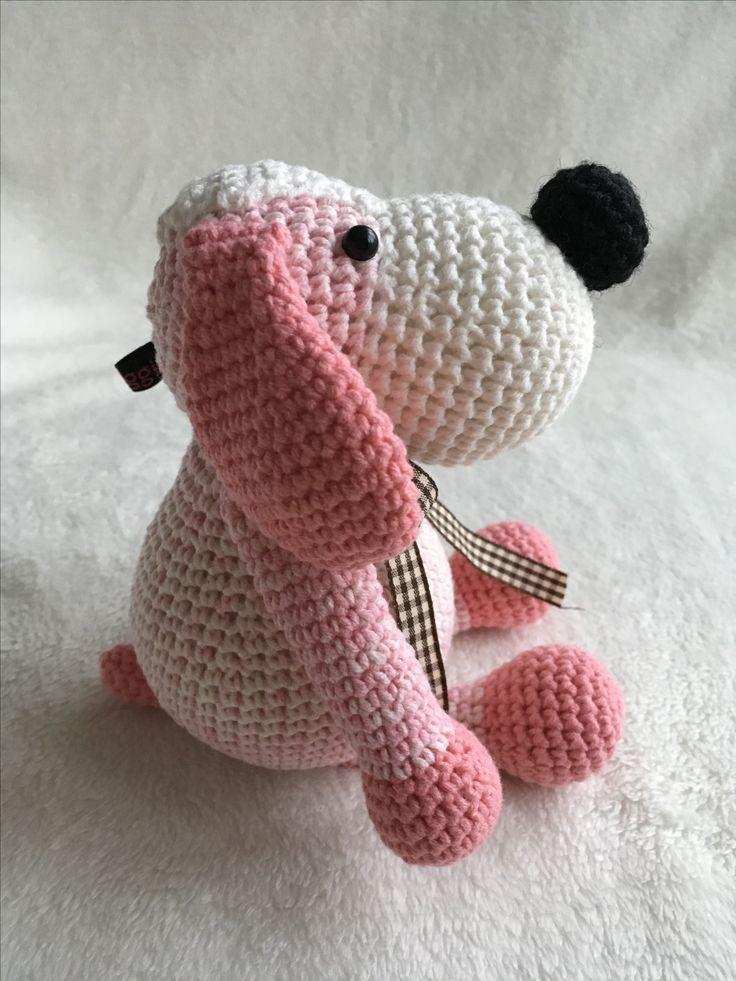 Een meisjeshondje voor een pasgeboren meisje!