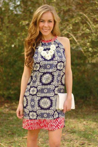 Miss Liberty Dress, $68.00