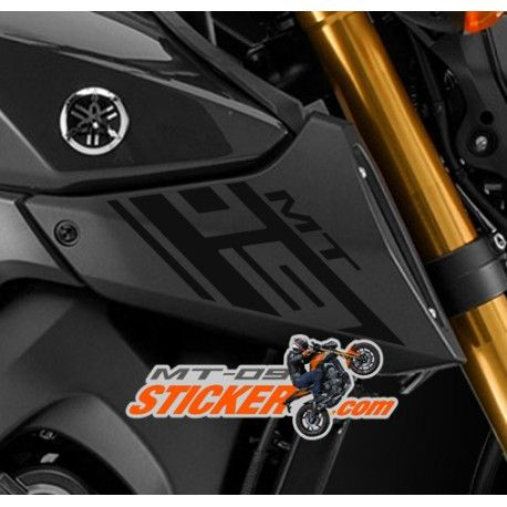 In stock now ! One pair of Yamaha MT-09 vinyl engine Intake covers stickers…