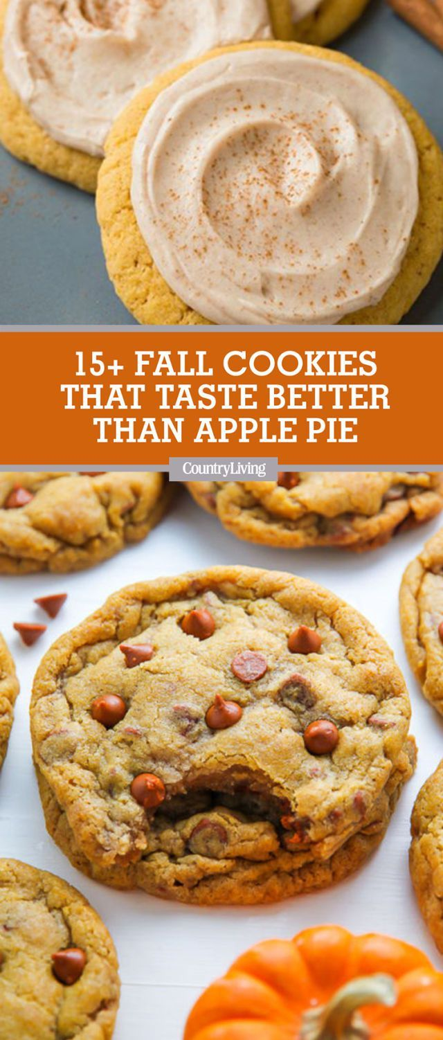 Fall Cookies That'll Make You Forget Apple Pie Even Exists