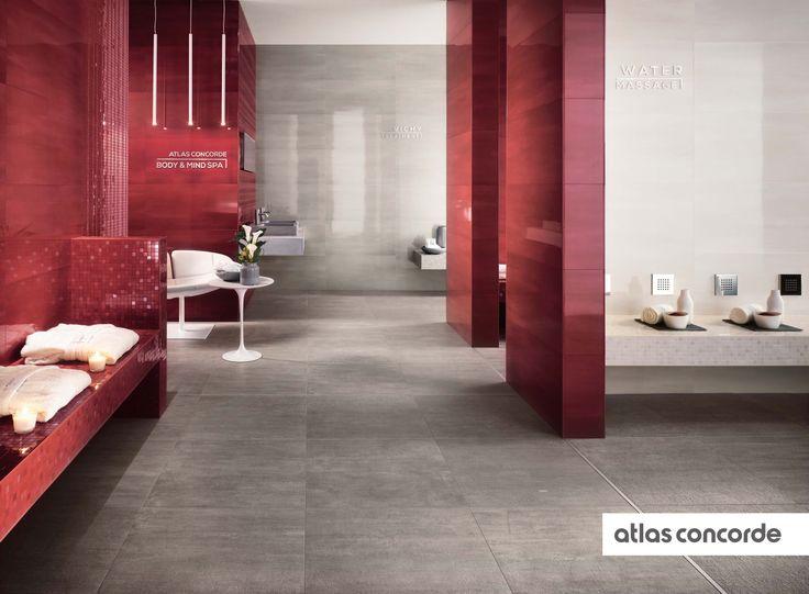 #MARK chrome and cherry | #AtlasConcorde | #Tiles | #Ceramic | #PorcelainTiles