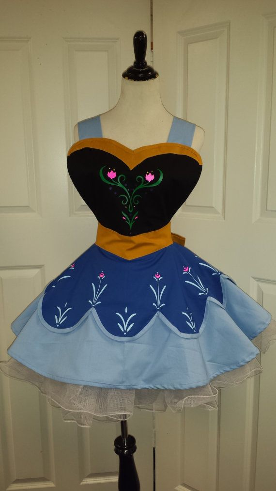 Princess Fandom Cosplay Retro Pin Up Apron by PandorasProductions, $89.99