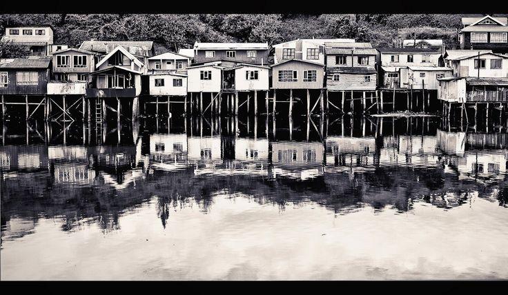 https://flic.kr/p/sB2wdL | Tarde de Castro | Isla grande de Chiloé Chile