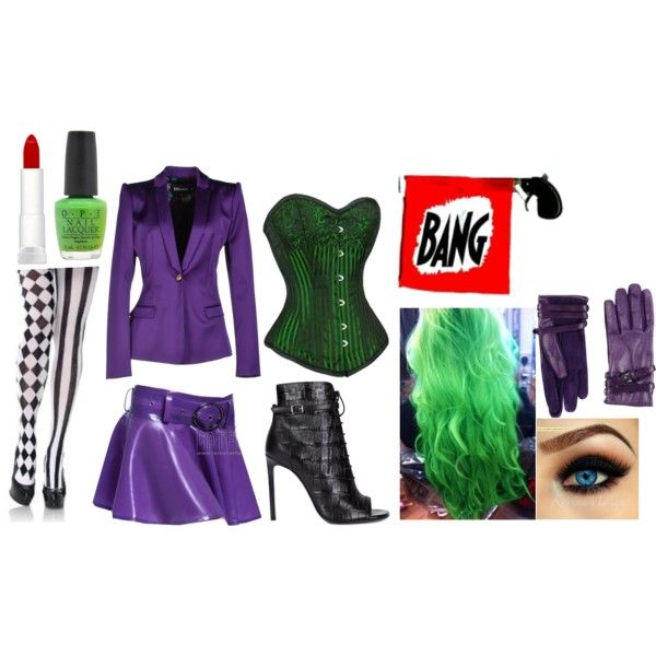 The Joker by bucky-lover on Polyvore