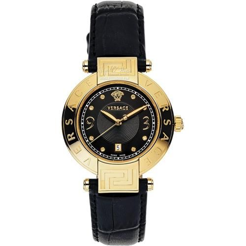 Versace Ladies' Reve Carre Gold Tone Leather Strap Watch - 68Q70SD009 - £1211.75 - Find this watch here: http://www.nigelohara.com/versace-ladies-reve-carre-gold-tone-leather-strap-watch-68q70sd009-68q70sd009-s009--pid19806.html Or view our full range of Sale items here: www.nigelohara.com/sale/