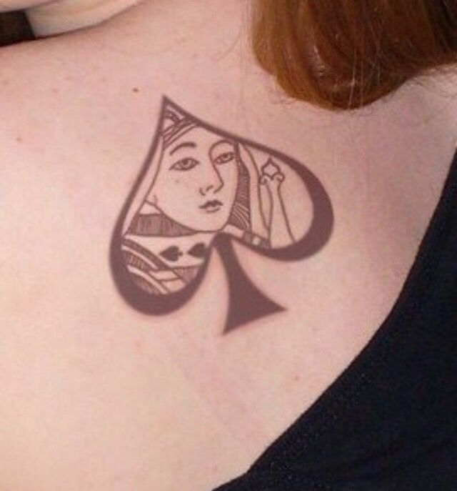 QOS tattoo | Queen of Spades | Pinterest | Tattoo and Queens
