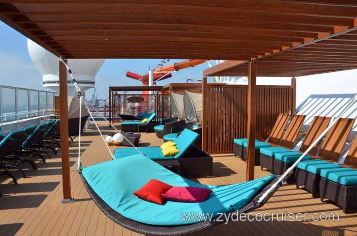 Carnival Magic Serenity Yes Please Hammock On A Cruise