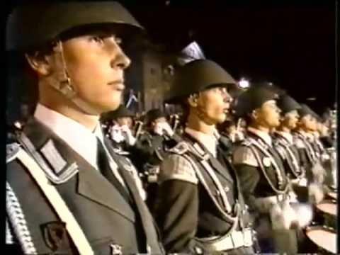Großer Zapfenstreich 1949 -1989 Part 2 of 2 - YouTube