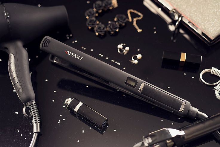 1 Inch Nano-Titanium Flat Iron, Frizz-free, 450F Professional Salon Temperature, LCD Hair Straightener, Dual Voltage, 1 Year Manufacture Warranty *** Check out the image by visiting the link. #hairenvy