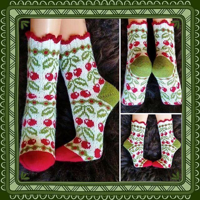 Ravelry: Cherry Dream (körsbärsdröm) pattern by JennyPenny