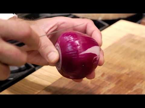 ▶ Food Art Garnishing Made Easy : Chef Techniques - tomato onion and scallion