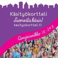 Avajaisviikko http://kasityokortteli.fi/avajaisviikko