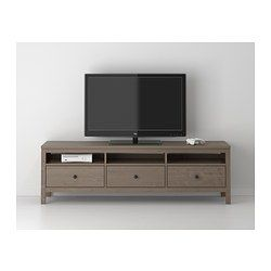 New TV stand for the new house... FINALLY!! - HEMNES TV unit - gray-brown - IKEA
