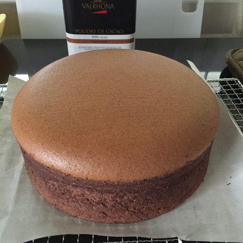 Schokoladen Biskuitkuchen (gekochte Teigmethode)