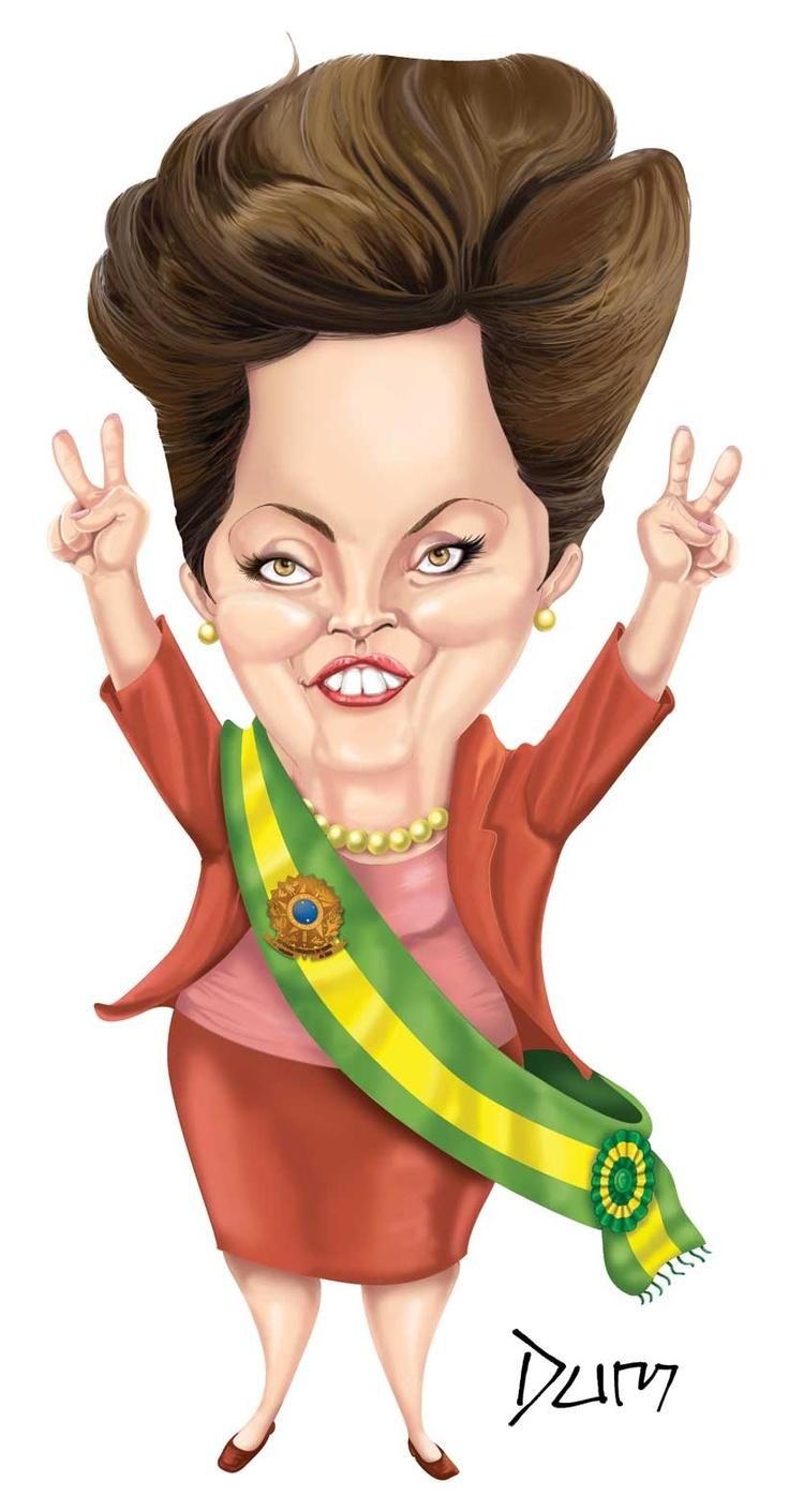 Resultado de imagem para presidentes do brasil caricaturas