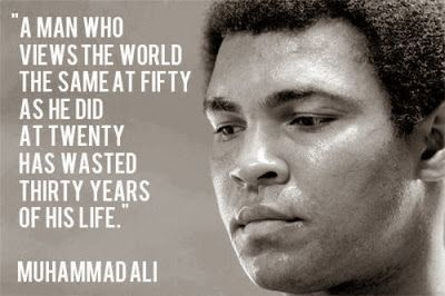 Quotes about Work & Life : Muhammad Ali Quotes