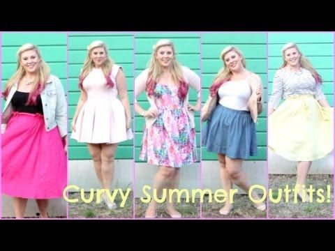 Louise's Curvy Summer Lookbook http://www.youtube.com/watch?v=HFGMXfP6AsQ