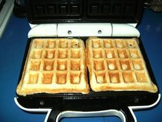 PROTEIN WAFFLES  - ONE SCOOP CASEIN PROTEIN POWDER  - 1/4 CUP WHEAT FLOUR  - 2 EGGS WHITES  I put banana and almond butter on mine    This looks awesome! On days when I don't have an appetite and might not reach my caloric goals, I'll mix protein powder into random stuff (juice, sauce, yogurt) to get a little extra energy and calories.