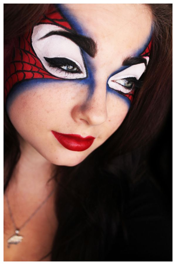 This is a really hot way of not having a mask. The Amazing Spidey Mask by Unique-Desire.deviantart.com