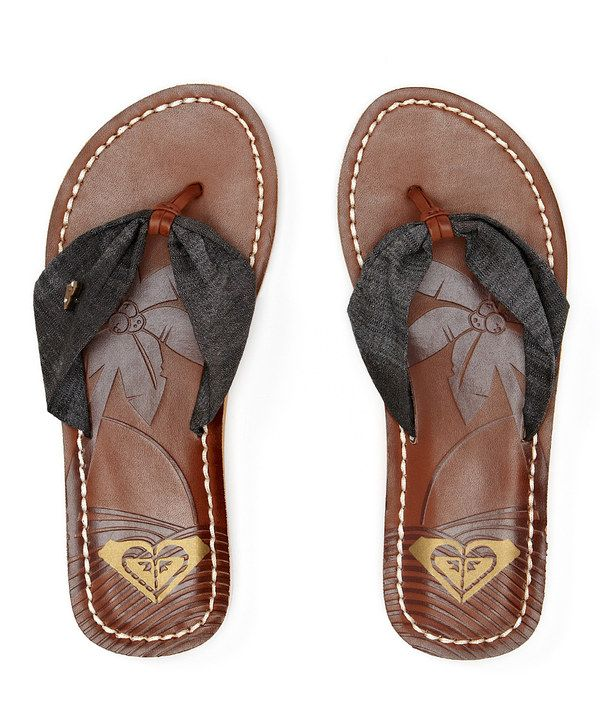 Look at this Chocolate Palau Flip-Flop on #zulily today!