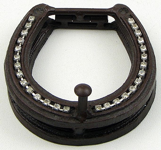 Cowgirl Bling Ranch, LLC - Cast Iron Horseshoe Door Knocker with Bling, $22.99 (http://www.cowgirlblingranch.com/cast-iron-horseshoe-door-knocker-with-bling/)