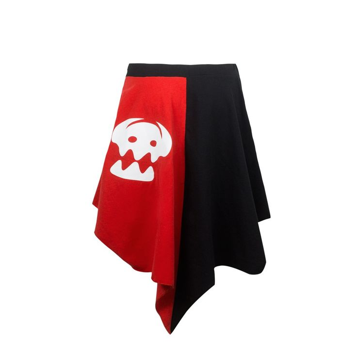 Toothless Tail Fin Skater Skirt - I'd buy it if it was SO short. I'll have to make my own.