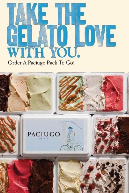 Paciugo Party Packs, available in 3 sizes, are the perfect complement to any party or gathering!