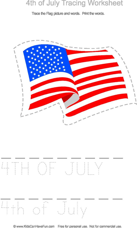 worksheet 4th Of July Worksheets 43 best 4th of july printables images on pinterest baby crafts tracing worksheet