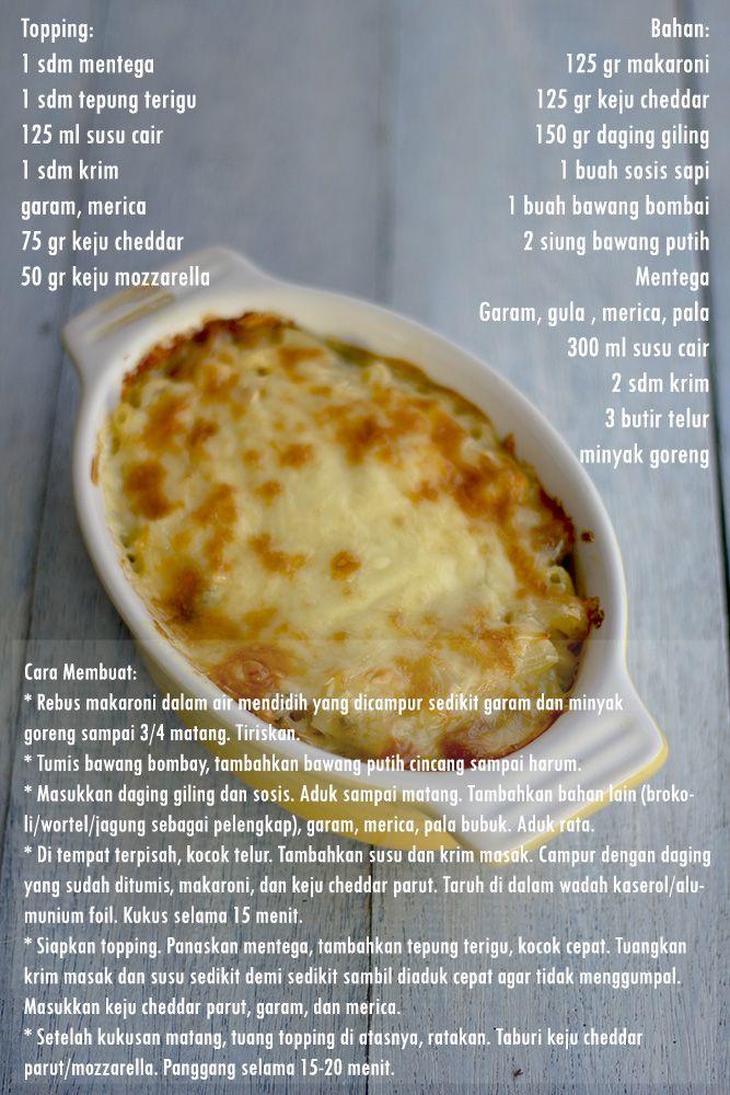 My Little Kitchen: Macaroni Schotel