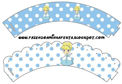 Making My Party!: Cinderella Fofinha - Complete Kit