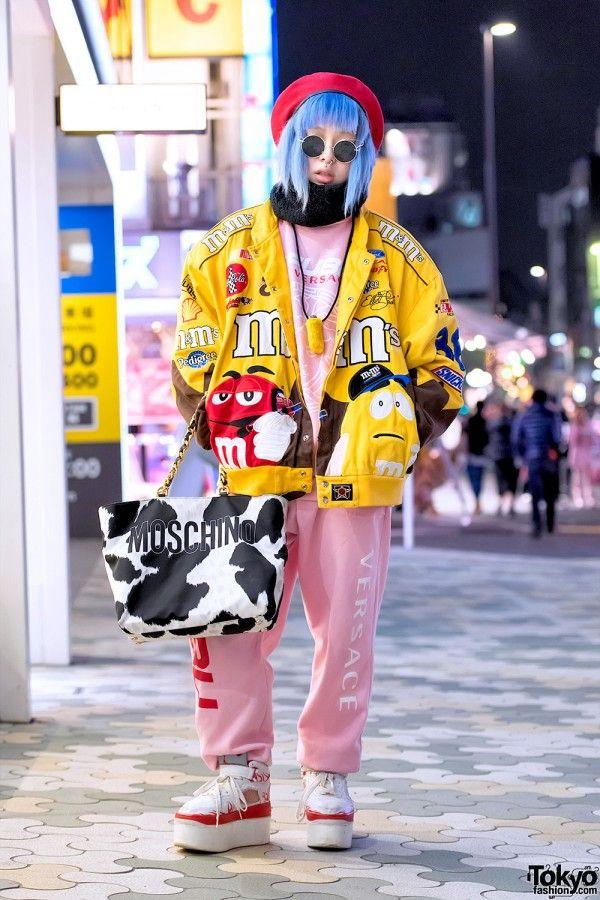 Freak City, Dog Harajuku & Moschino Street Fashion in Tokyo