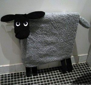 Van radiator tot schapen ... Echt gaaf.. voor de Babykamer & kinderkamer....