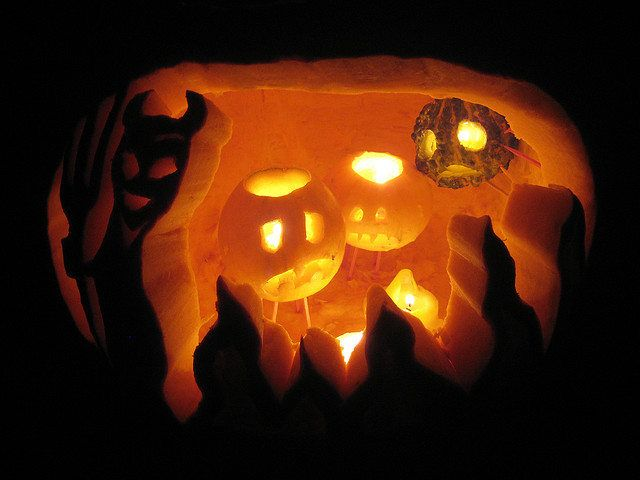53 best pumpkin carving ideas images on pinterest for Different pumpkin designs