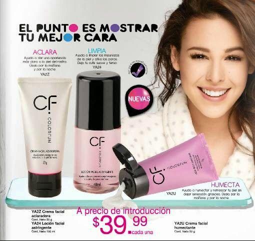 Cremas faciales de Colorfun con Danna Paola. Fuller C-23 2015