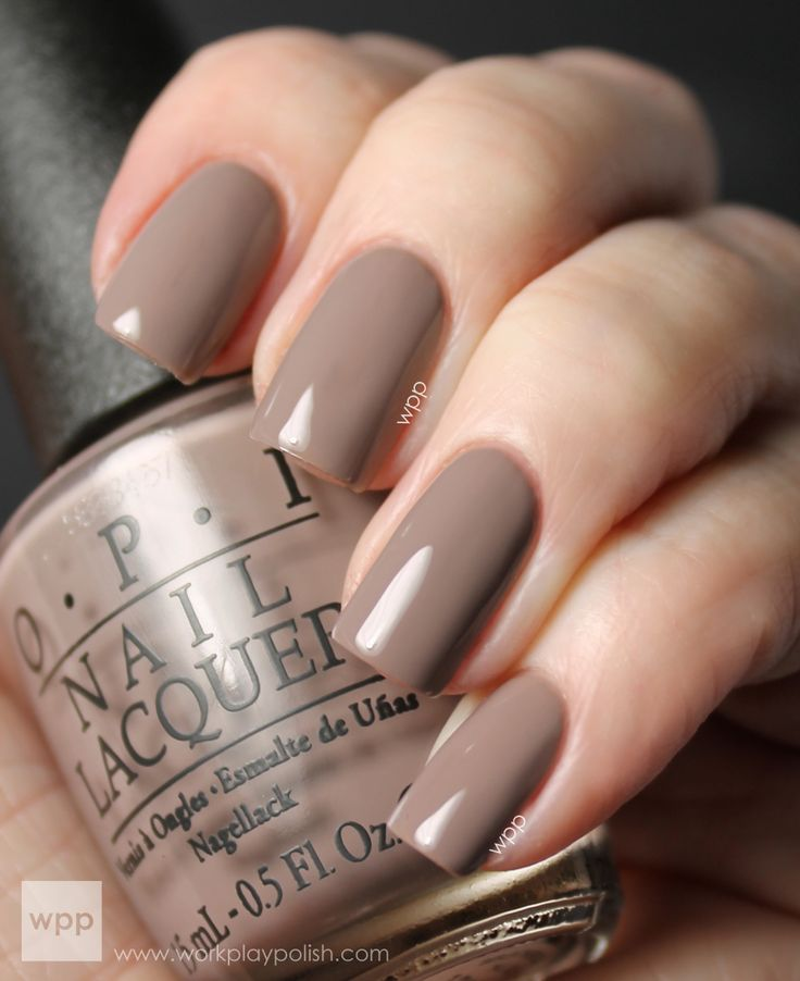 OPI Berlin There Done That. I have this on my toes right now--my fave of the summer!