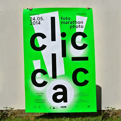 Affiche Clic Clac, marathon photographique.