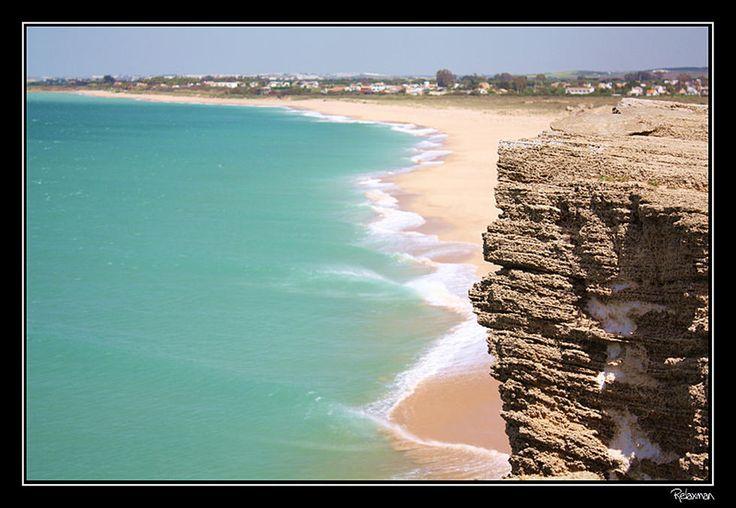 Monitor de Pantalla Plana en Playa del Faro de Trafalgar