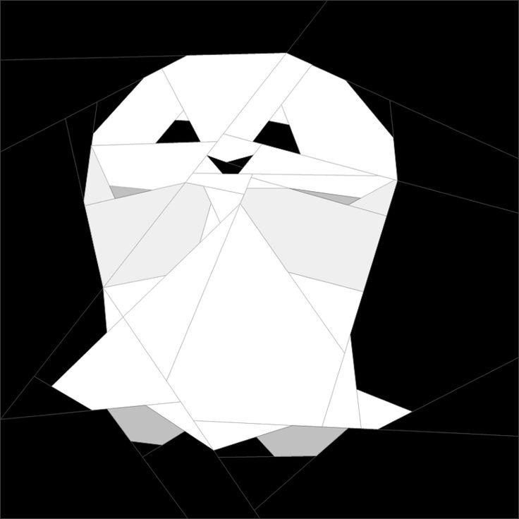 Spooky Mug Rug #4