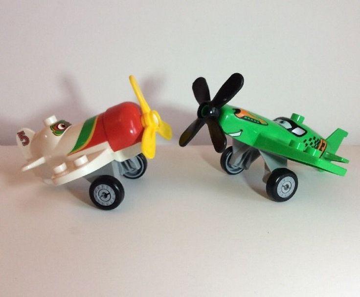 Lego Duplo Lot Disney Planes El Chupacabra Ripslinger Airplanes Wheels 5 13  | eBay