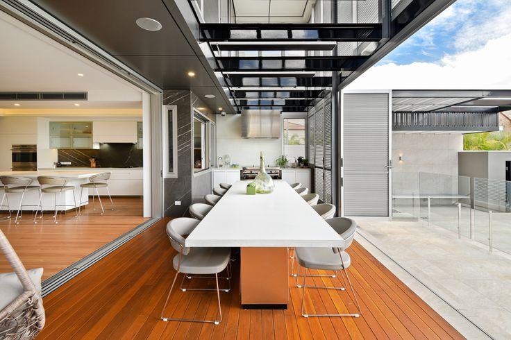 Carina Heights Outdoor Entertainment Area Design - Dion Seminara Architecture