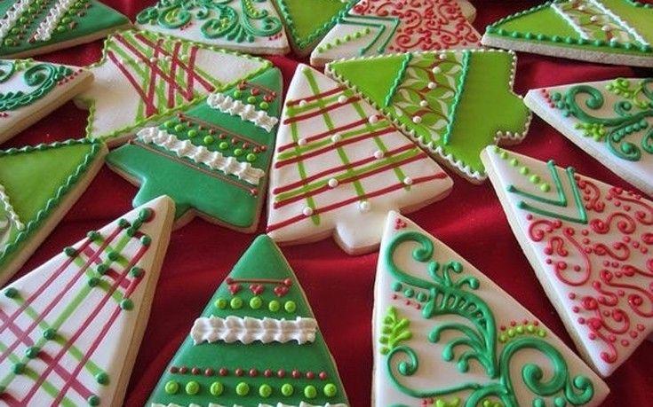 Χριστουγεννιάτικα μπισκότα δεντράκι | Newsbeast