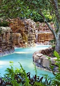 J.W. Marriott, Orlando, Florida. The best pools and lazy river ever!!  I never tire of going here :)