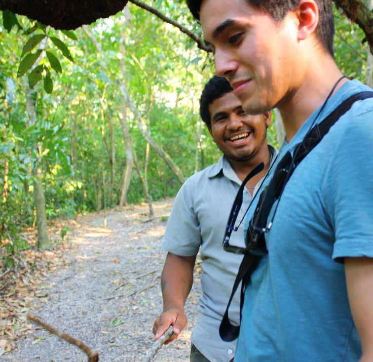 Belize jungle tour with Nigel from our Green Iguana Conservation Project!