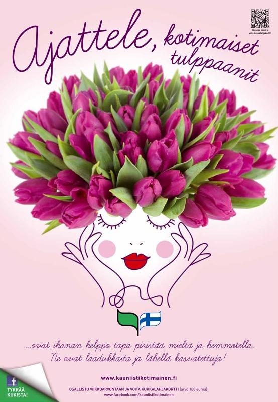 Kauniisti kotimainen - Ajattele, kotimaiset tulppaanit 2012