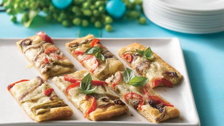 pastry tart with havarti and peppers | What's Cookin? | Pinterest