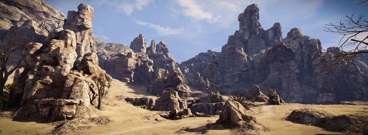 Landscape : The Snad - Polycount Forum