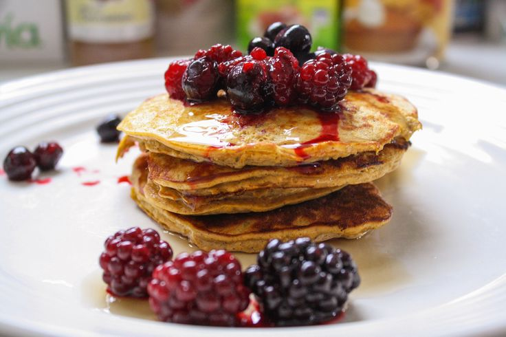 These pumpkin protein pancakes are the perfect fall treat to give you a warm, delicious breakfast and also power you through your morning.