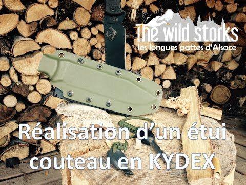 ▶ Fabrication Etui Kydex pour votre couteau de Bushcraft - YouTube