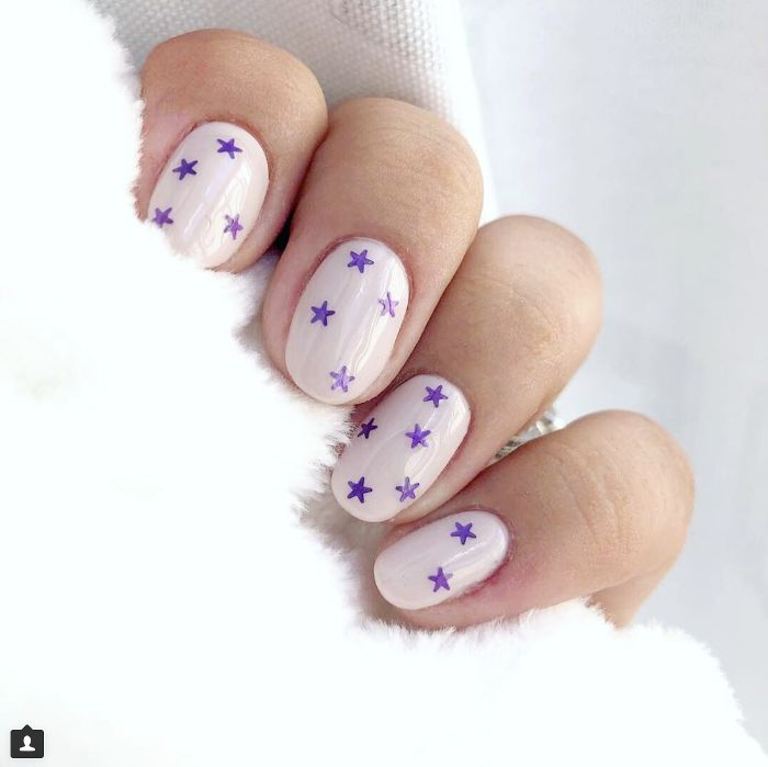 The 25 best really short nails ideas on pinterest french were really into these 16 nail designs for short nails prinsesfo Images