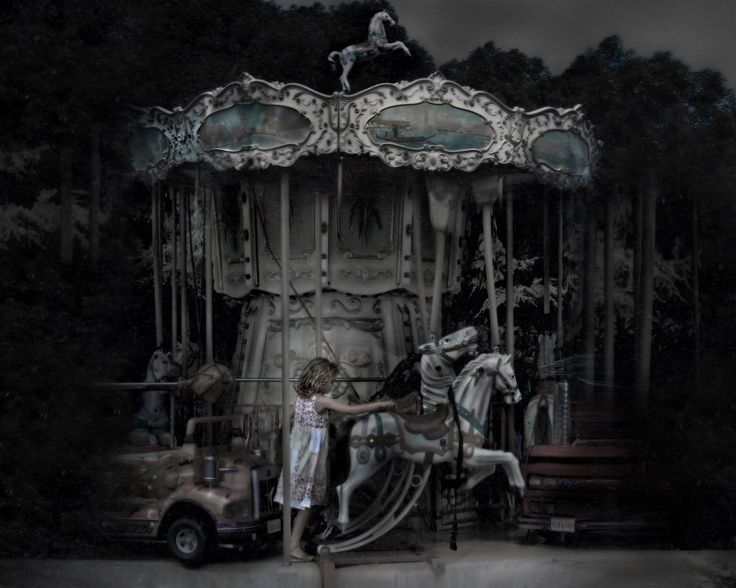 195 best abandoned amusement parks hunted images on pinterest little girl merri go round sciox Choice Image